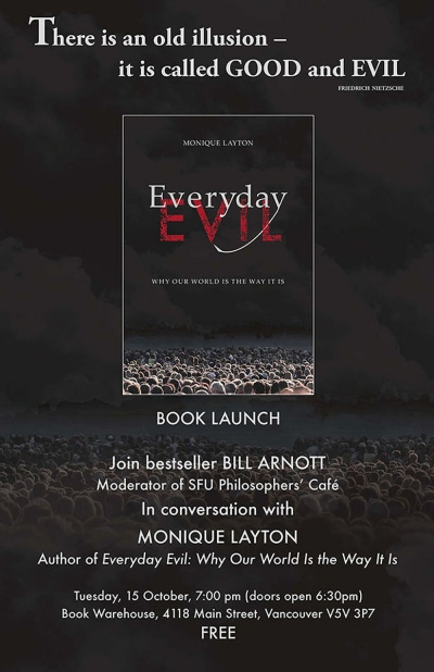 Everyday Evil Launch Poster