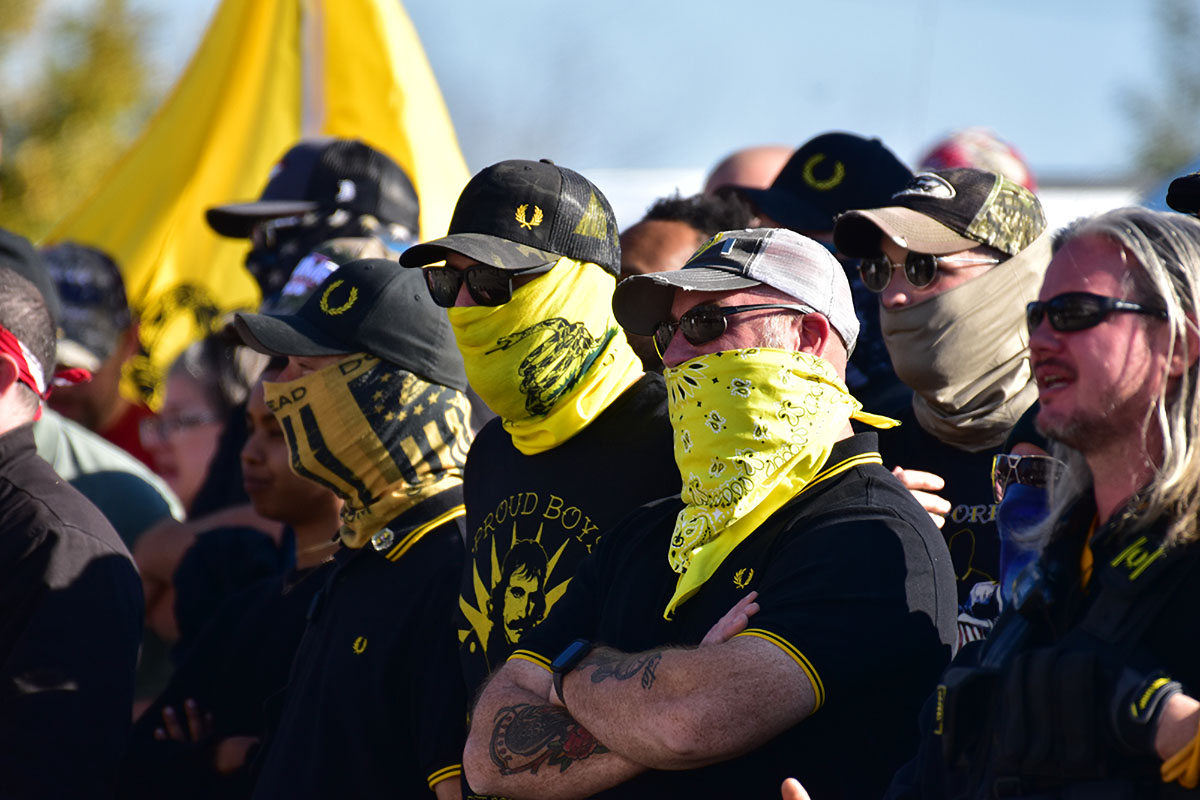 Proud Boys Named Terrorist Group by Canada