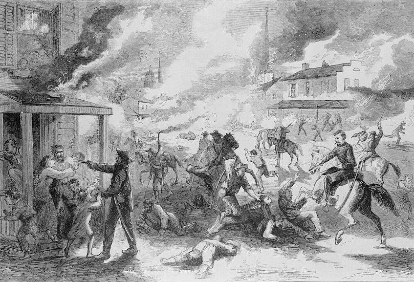 Quantrills Raid Lawrence Kansas