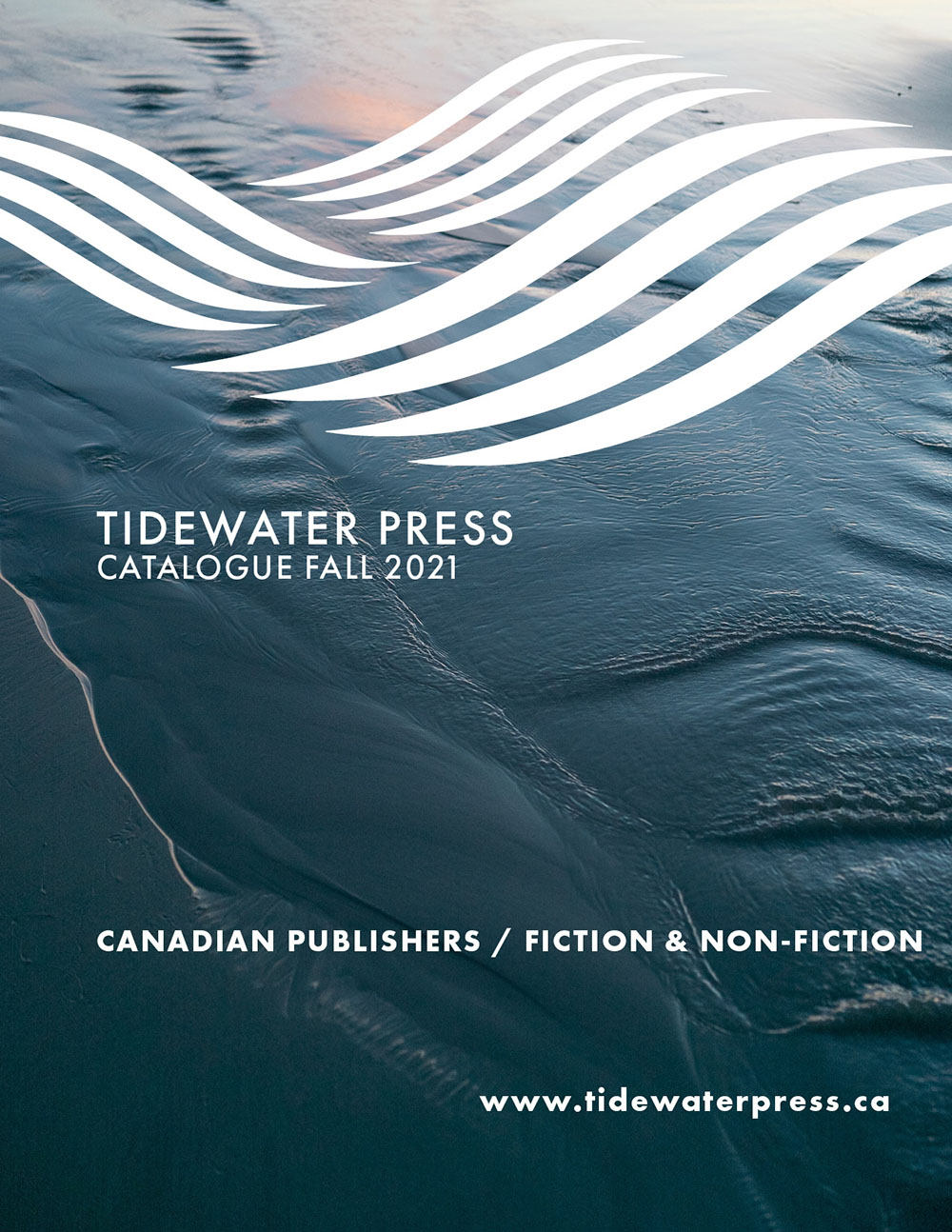 Tidewater Press Fall 2021 Catalogue cover