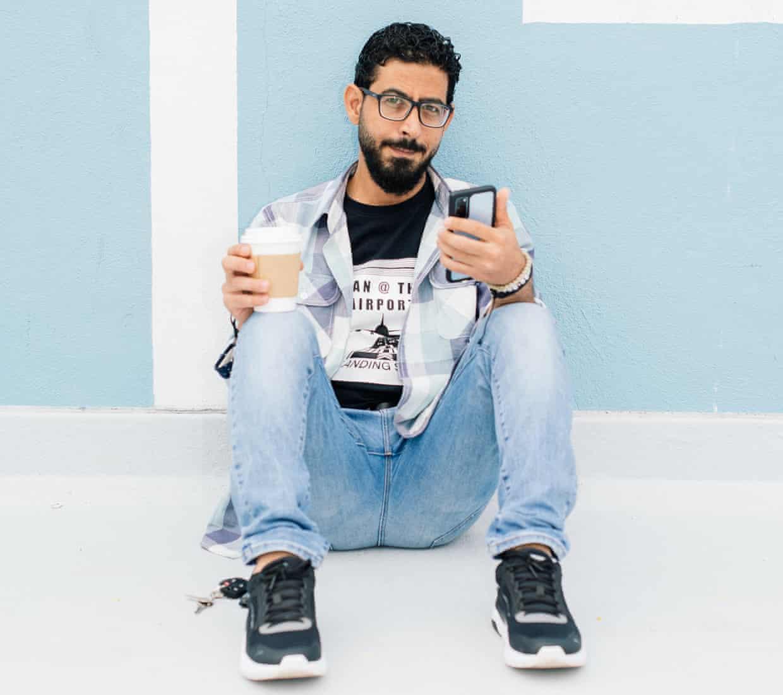 Hassan Al Kontar. Photo The Guardian