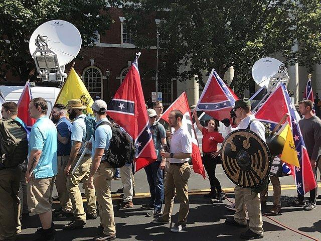 Unite the Right Rally, Charlottesville. Photo Anthony Crider