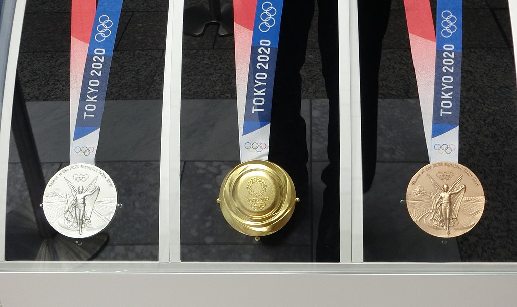 Olympic Medals Tokyo 2020